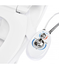 SouthSpa Left-Handed Dual-Temp, Single-Nozzle Bidet Attachment
