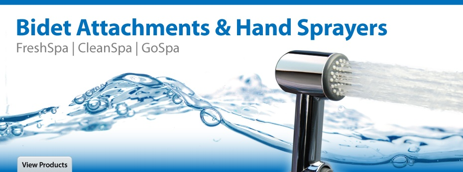 Bidet Attachments and Hand Sprayers