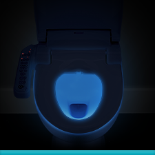SE400 Advanced Bidet Seat - Welcoming Nightlight