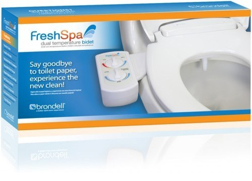freshspa dual temperature bidet toilet attachment